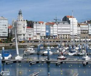La Coruña, Spain puzzle
