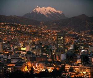 La Paz, Bolivia puzzle