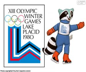 Lake Placid 1980 Olympic Games puzzle