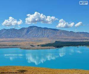 Lake Tekapo, New Zealand puzzle
