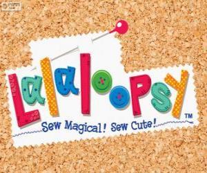Lalaloopsy logo puzzle