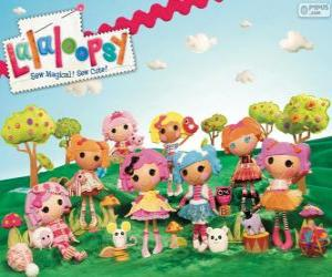 Lalaloopsy, the rag dolls puzzle