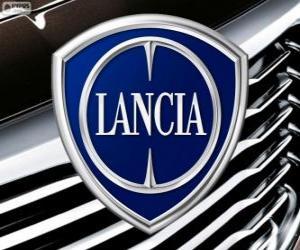 Lancia logo, Italian brand puzzle