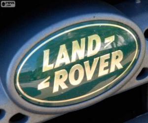 Land Rover logo puzzle