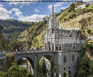 Las Lajas Sanctuary, Colombia puzzle