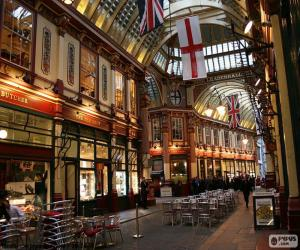 Leadenhall Market, London puzzle
