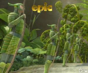 Leaf-Men, Epic puzzle