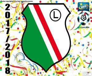 Legia Warsaw, Ekstraklasa 17-18 puzzle