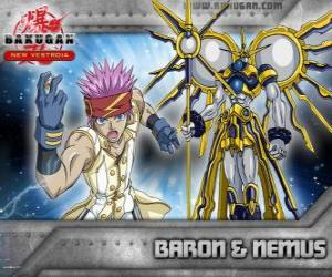 Leltoy Baron and his Bakugan Nemus puzzle