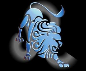 Leo. The Lion. Fifth sign of the zodiac. Latin name is Leo puzzle