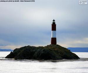 Les Eclaireurs Lighthouse, Argentina puzzle