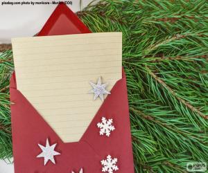 Letter to Santa Claus puzzle