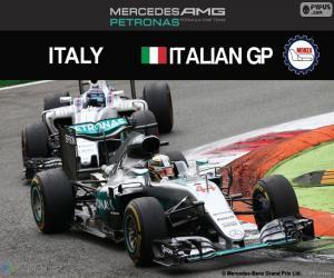 Lewis Hamilton, 2016 Italian Grand Prix puzzle
