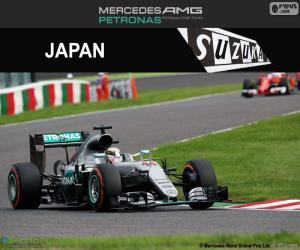 Lewis Hamilton, 2016 Japanese GP puzzle
