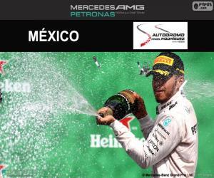 Lewis Hamilton, 2016 Mexican Grand Prix puzzle
