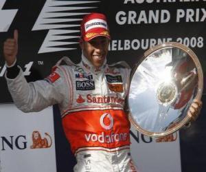 Lewis Hamilton in the podium puzzle