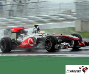 Lewis Hamilton - McLaren - Korea 2010 (2 º Classified) puzzle