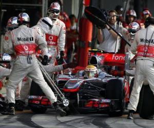 Lewis Hamilton - McLaren - Suzuka 2010 puzzle