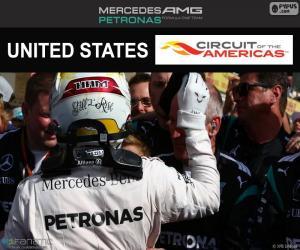 Lewis Hamilton, United States GP 2016 puzzle