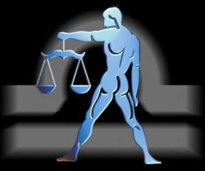 Libra. The Scales, the Balance. Seventh astrological sign of the zodiac. Latin name is Libra puzzle