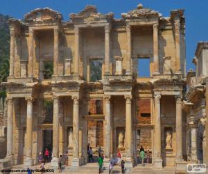 Library of Celsus, Ephesus, Turkey puzzle