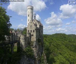 Lichtenstein Castle, Germany puzzle