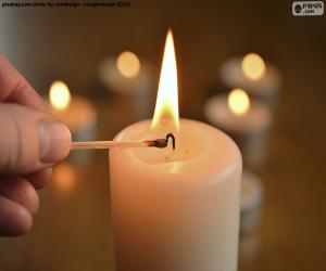 Light the candle puzzle