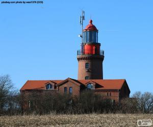 Lighthouse Bastorf, Germany puzzle