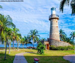 Lighthouse Castillo Grande, Colombia puzzle
