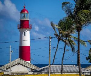 Lighthouse of Itapuã, Brazil puzzle