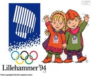 Lillehammer 1994 Winter Olympics puzzle