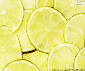 Lime, fruit puzzle