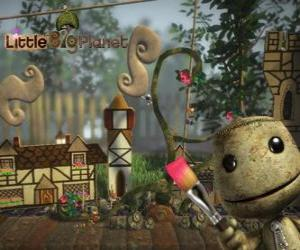 LittleBigPlanet, video game where the characters are dolls called Sackboys or Sackgirls puzzle