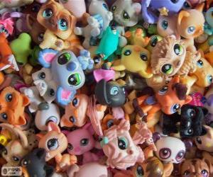 Littlest PetShop pets puzzle