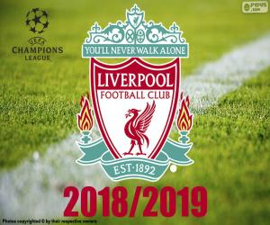 Liverpool, Champions League 2019 puzzle