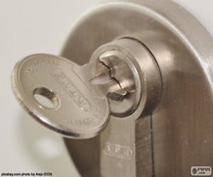 Lock door puzzle