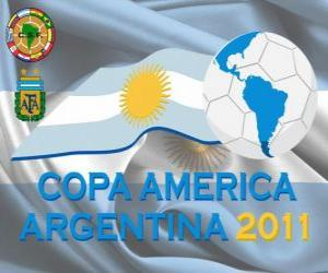 Logo Copa América Argentina 2011 puzzle