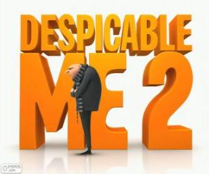 Logo from the film Despicable Me 2 puzzle