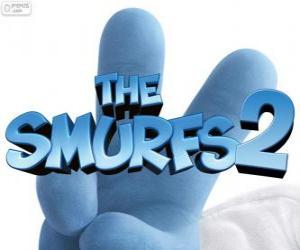 Logo from the film The Smurfs 2 puzzle