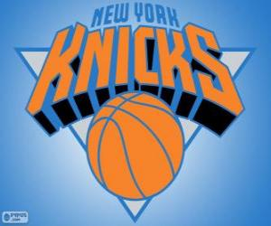 Logo New York Knicks, NBA team. Atlantic Division, Eastern Conference puzzle