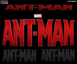Logo of Ant-Man puzzle