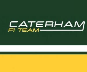 Logo of Caterham F1 Team puzzle