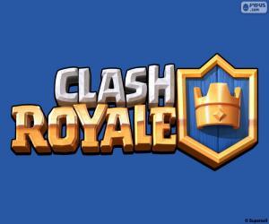 Logo of Clash Royale puzzle