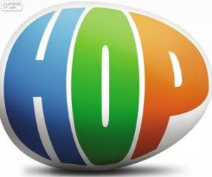 Logo of Hop, the film puzzle