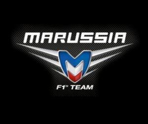 Logo of Marussia F1 Team puzzle