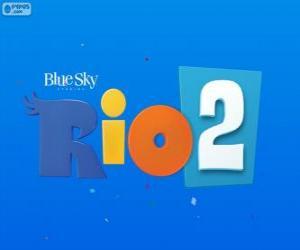 Logo of Rio 2 the movie puzzle