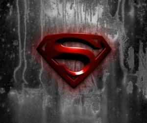 Logo of Superman puzzle