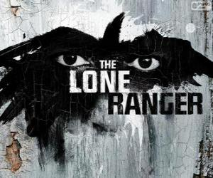 Logo of the film The Lone Ranger puzzle