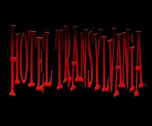 Logo of the Hotel Transylvania puzzle