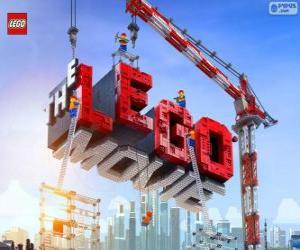 Logo of the Lego movie puzzle